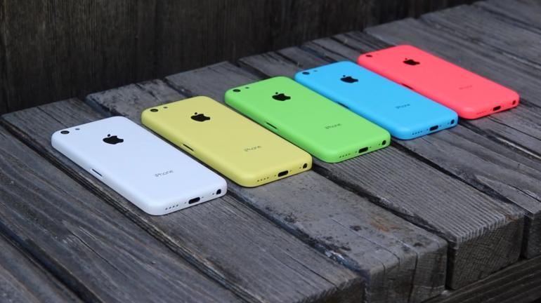 Apple blijft met miljoenen iPhone 5c-exemplaren zitten