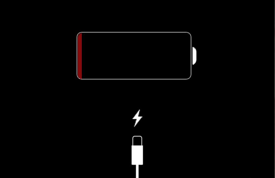 iPhone 5 batterij leeg